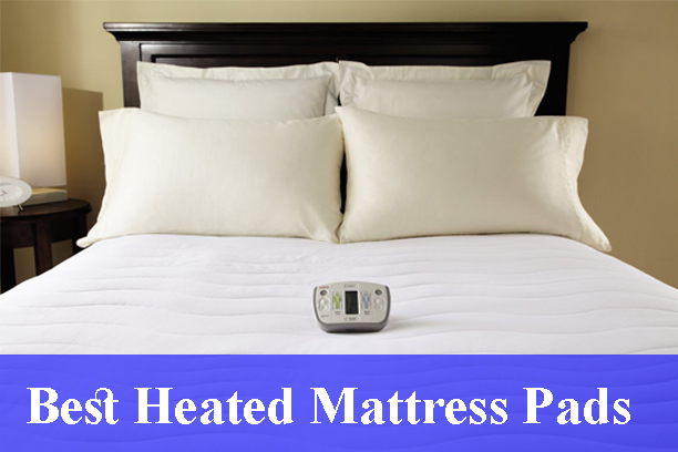 Sunbeam All Season Premium Queen Heated Mattress Pad With Two Heating Digital Controllers 250 Thread Count 100 Cotton
