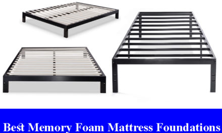 Best Memory Foam Mattress Foundations Reviews (Updated) 2020