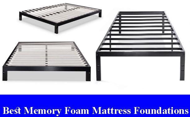 Best Memory Foam Mattress Foundations Reviews (Updated)