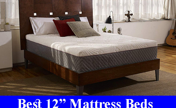 Best 12 Inch Memory Foam Mattress Beds Reviews (Updated)