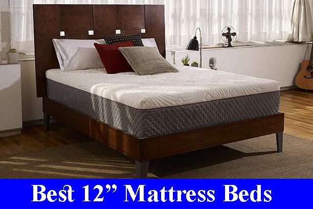 Best 12 Inch Memory Foam Mattress Beds Reviews (Updated)