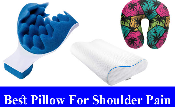 Best Pillow For Shoulder Pain Reviews (Updated)