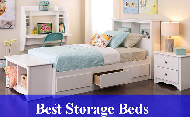 Best Storage Beds Reviews (Updated)