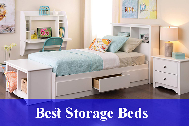 Best Storage Beds Reviews (Updated)